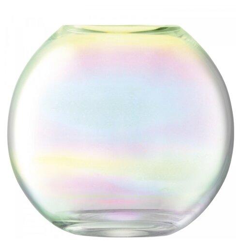 Ваза круглая LSA International Pearl 16 см ваза lsa international utility 19 см синяя
