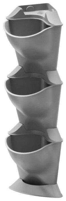 Горшок цветочный Горшок с функцией самополива подвесной серый Eva Solo 568161