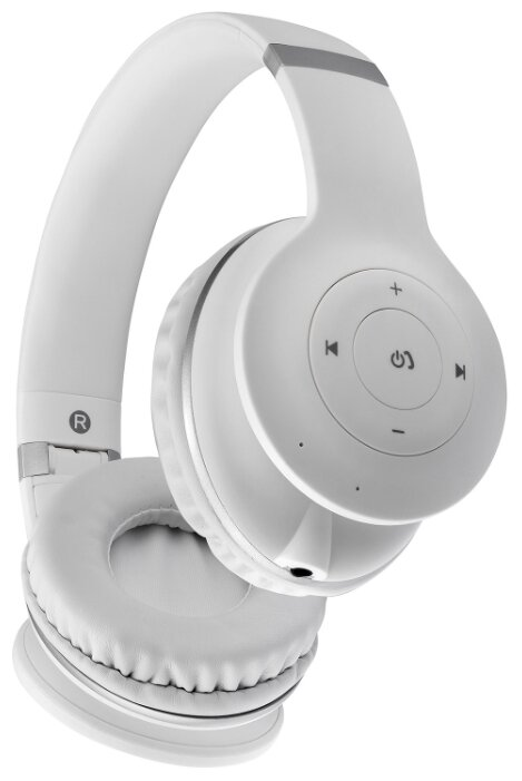 Наушники Bluetooth InterStep SBH-260 SoftFeel White