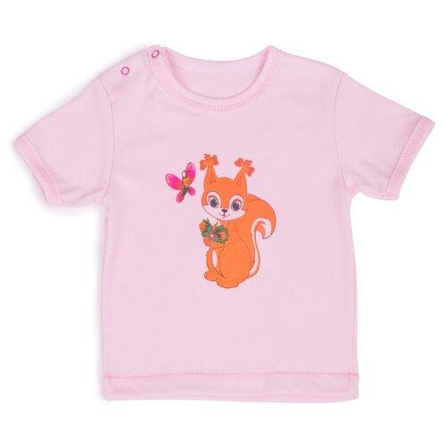 Футболка Babyglory размер 80, розовый джемпер для новорожденных babyglory superstar цвет синий ss001 09 размер 80
