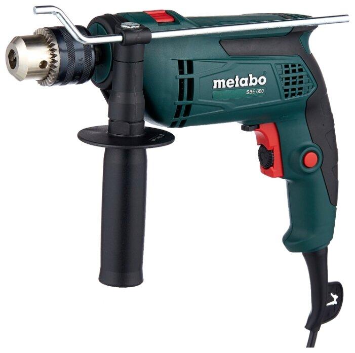 Дрель ударная Metabo SBE 650 (ЗВП) 650 Вт
