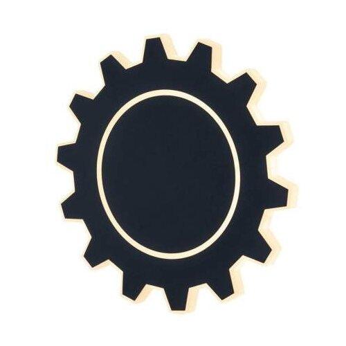 Настенный светильник Elektrostandard Gear L MRL LED 1100 черный, 8 Вт настенный светильник elektrostandard cooper neo led светодиодный mrl led 7w 1003 ip20 7 вт