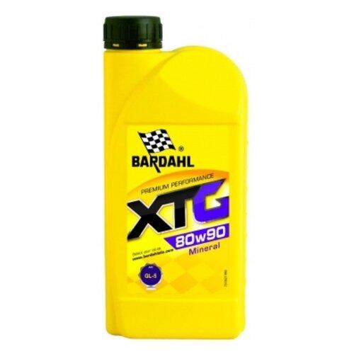 Трансмиссионное масло Bardahl XTG 80W-90 1 л