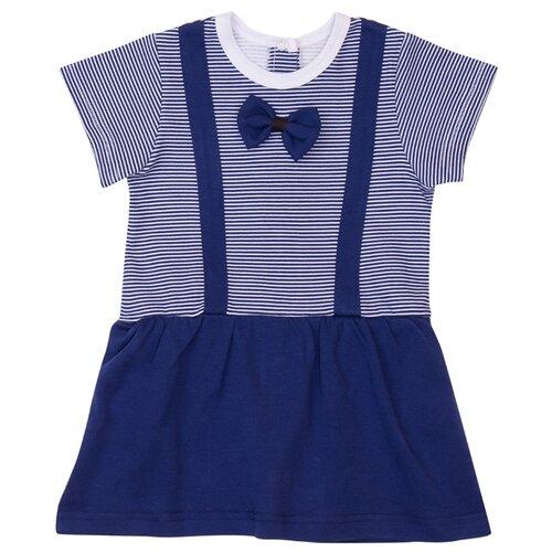 Платье-боди ALENA размер 68-74, синий