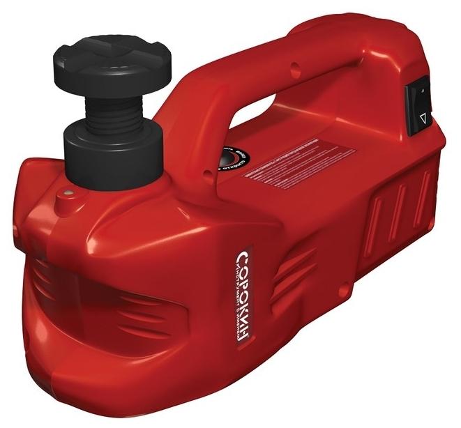 Стоит ли покупать Домкрат бутылочный электрогидравлический СОРОКИН 3.560 (3 т)? Отзывы на Яндекс.Маркете