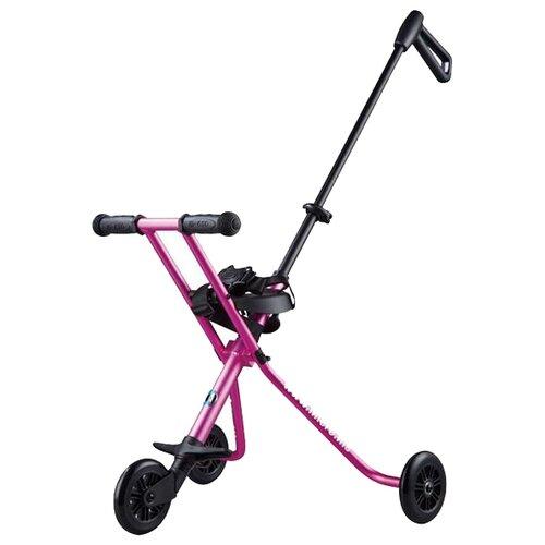 Городской самокат Micro Trike Deluxe розовый цена 2017