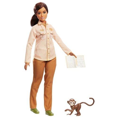 Купить Кукла Barbie Кем быть? Nat Geo Защитник дикой природы, GDM48, Куклы и пупсы