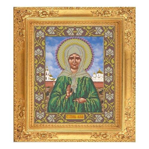 Купить Набор для вышивания бисером Икона Матрона Московская 29 х 35 см И018, Galla Collection, Наборы для вышивания