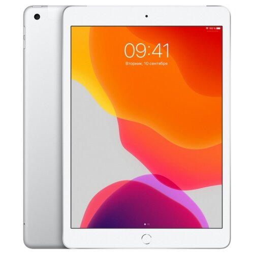 Планшет Apple iPad (2019) 128Gb Wi-Fi + Cellular silver планшет