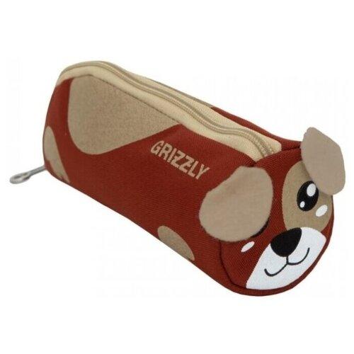 Купить Пенал школьный Grizzly легкий, собака, Пеналы
