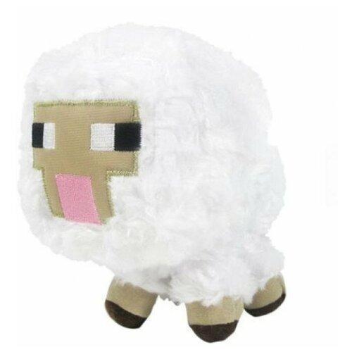 Мягкая Игрушка - Minecraft Sheep / Майнкрафт Овца 16см