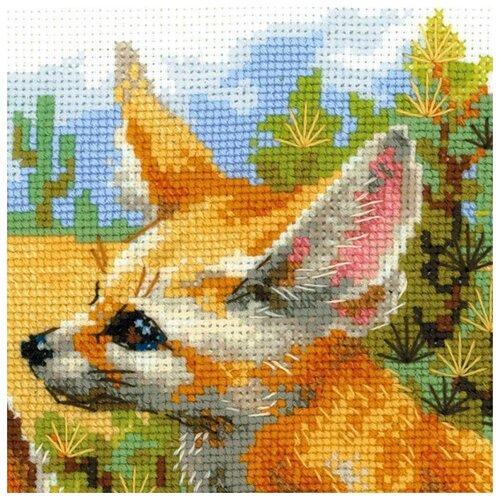Купить Риолис Набор для вышивания Фенеки 25 х 25 см (1636), Наборы для вышивания