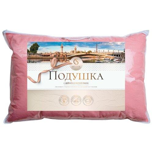 Подушка Selena Crinkle line 50 х 70 см розовый