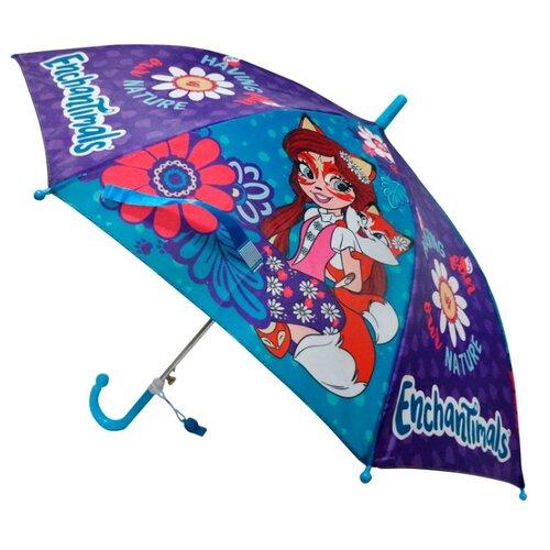 Зонт Играем вместе синий/фиолетовый/красный