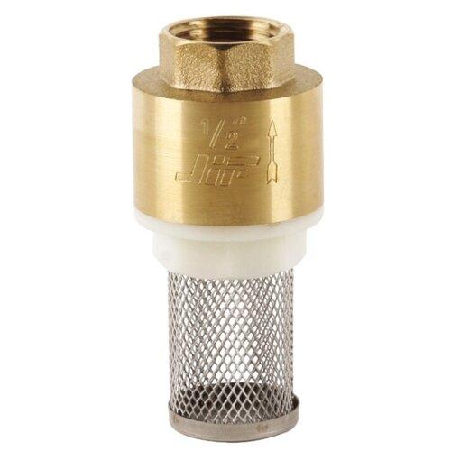 """Обратный клапан одностворчатый JIF 30831 муфтовый (ВР/НР), латунь с фильтром Ду 20 (3/4"""")"""