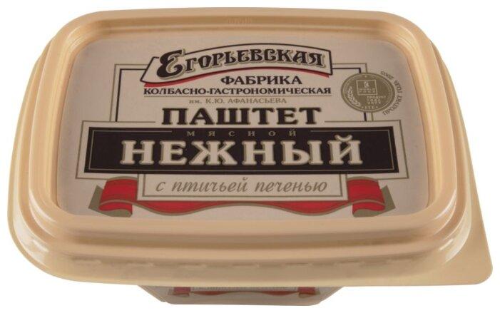 Паштет нежный из птичьей печени Егорьевская Фабрика, 150г