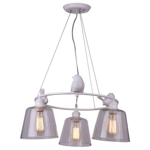 Люстра подвесная PASSERO A4289LM-3WH подвесная люстра arte lamp a4289lm 6wh