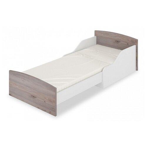 Кровать-трансформер детская Мэрдэс Кровать-трансформер КТД, раздвижная, каркас: ЛДСП, цвет: белый/нельсон