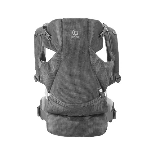 Рюкзак-переноска Stokke MyCarrier Front and Back Grey Mesh grey scoop neck open back bodysuit