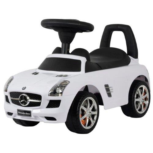 Каталка-толокар Barty Mercedes Benz (Z332) со звуковыми эффектами белый цена 2017