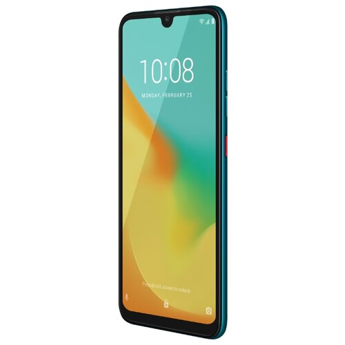 смартфон zte blade v10 vita 3 64gb blue Смартфон ZTE Blade V10 Vita 2/32GB голубой аквамарин
