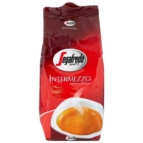 Фото - Кофе в зернах Segafredo Intermezzo, арабика/робуста, 500 г segafredo intermezzo кофейный набор кофе молотый 250 г термокружка 400 мл