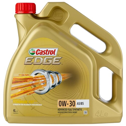 Моторное масло Castrol Edge 0W-30 A5/B5 4 л моторное масло castrol edge 0w 30 a5 b5 4 л