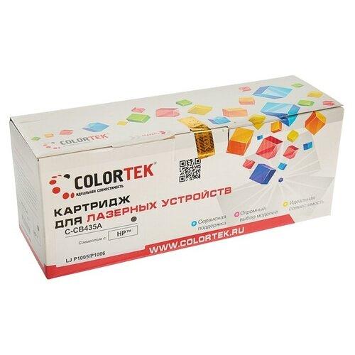 Фото - Картридж Colortek C-CB435A, совместимый картридж colortek c mlt d104s совместимый