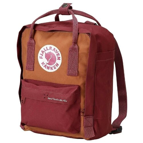 цены Рюкзак Fjallraven Kånken Mini Save the Arctic Fox red (ox red)