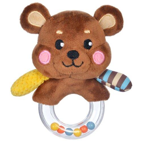 Купить Погремушка Жирафики Мишка 939507 коричневый, Погремушки и прорезыватели