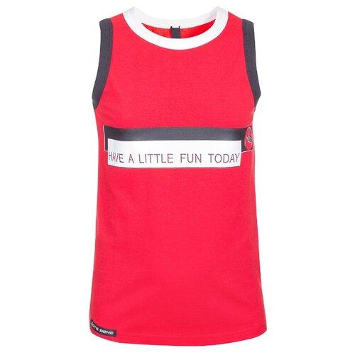Купить Майка Nota Bene размер 128, красный, Футболки и майки