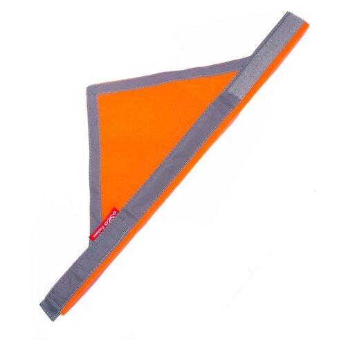 Бандана для собак OSSO Fashion сигнальная M оранжевый