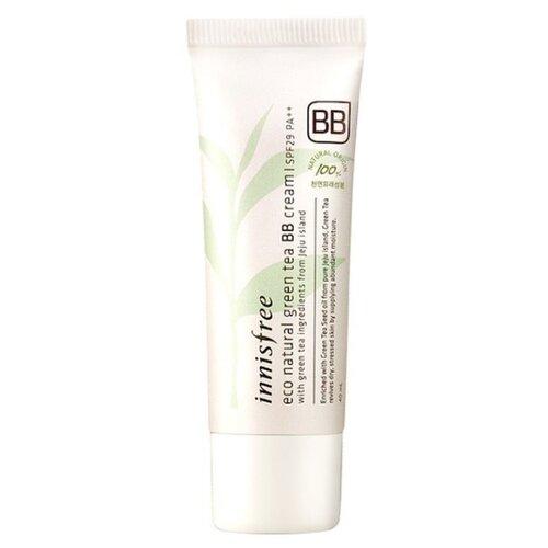 Innisfree Eco Natural BB крем Green Tea SPF29 40 мл, оттенок: 02 natural beige