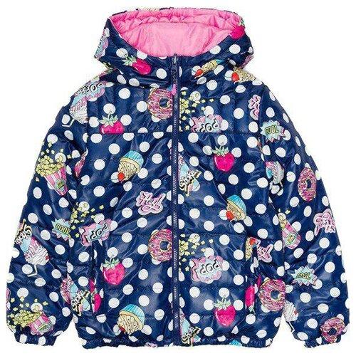 Куртка Acoola размер 140, синий/розовый acoola acoola ac008egicu57