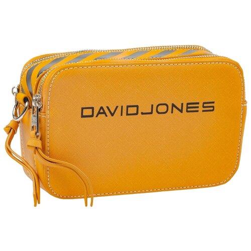 Сумка кросс-боди DAVID JONES 6169-1, искусственная кожа сумка женская david jones цвет серый 5643 1 d grey