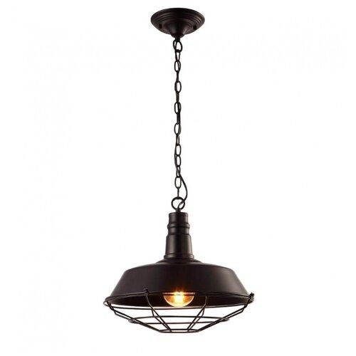 Светильник Arte Lamp Ferrico A9183SP-1BK, E27, 60 Вт подвесной светильник ferrico a9183sp 1bg