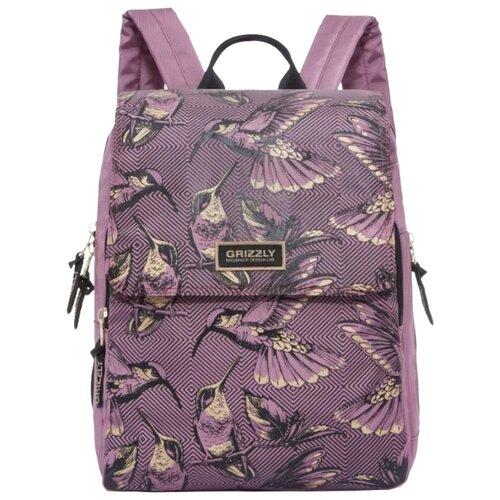 Рюкзак Grizzly RD-831-1/3 12.5 (темно-розовый)