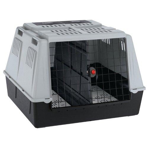 Клиппер-переноска для собак Ferplast Atlas Car Maxi 100х80х71 см серый