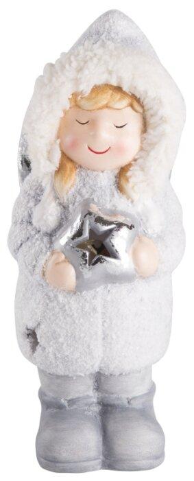 Фигурка NEON-NIGHT Снегурочка со звездой 18 см