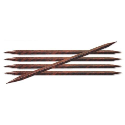 Купить Спицы Knit Pro Cubics 25103, диаметр 3 мм, длина 15 см, коричневый