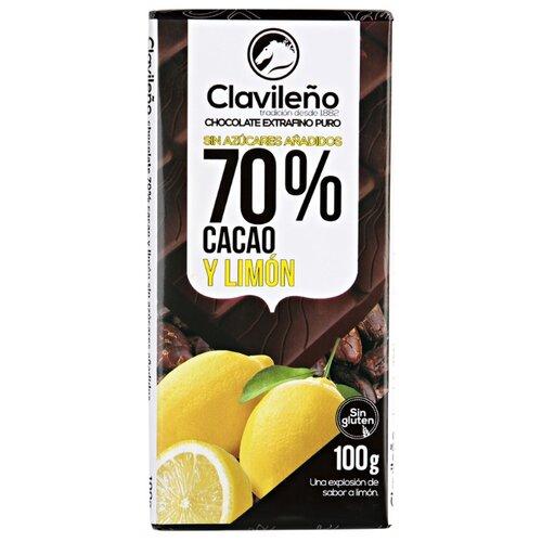 Фото - Шоколад Clavileno темный с лимоном, 100 г шоколад lindt excellence темный с чили 100 г
