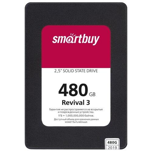 Купить Твердотельный накопитель SmartBuy Revival 3 480 GB (SB480GB-RVVL3-25SAT3)