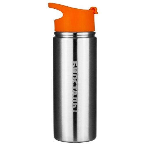 Классический термос Biostal NHF-500 (0,5 л) серебристый/оранжевый