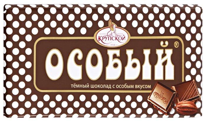 Шоколад Особый тёмный, 90 г - Характеристики - Яндекс.Маркет