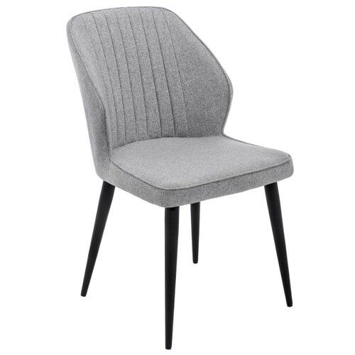 Стул Woodville Kosta, металл/текстиль, цвет: серый стул woodville dodo металл текстиль цвет синий