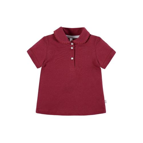 Купить Поло Мамуляндия размер 74, малиновый, Футболки и рубашки