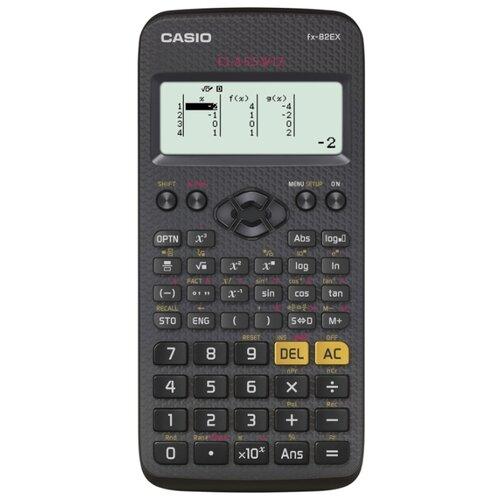 Калькулятор научный CASIO FX-82EX черный/серый