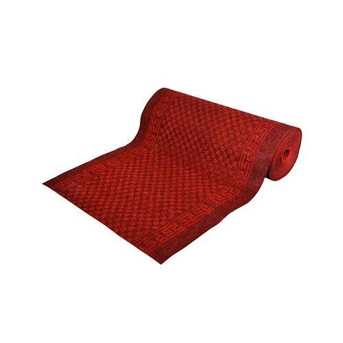 Ковровая дорожка VORTEX Siesta, размер: 15х1 м, красный/черный