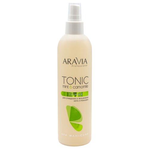 ARAVIA Professional Тоник для очищения и увлажнения кожи с мятой и ромашкой 300 мл aravia тоник купить