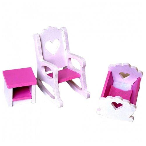 SunnyWoods Детская комната (NM212014) белый/розовый